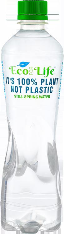 Plant Based Plastic Free Bottle | Eco For Life